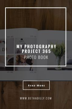 My Photography Project 365 Photo Book | Bethadilly Photography