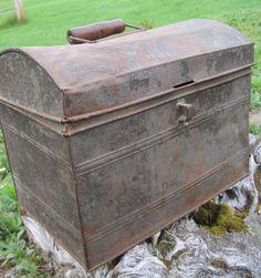 galvanized storage box