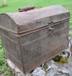 galvanized storage box