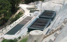 Planta de tratamiento de aguas residuales de la URL |