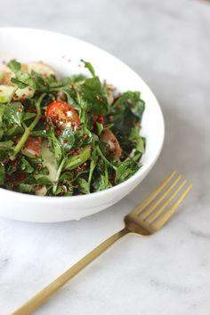 easy mediterranean salad recipe, True Food Kitchen Mediterranean salad knock off recipe