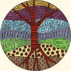 Elements of art - Life. Truth. Art.: Zendala MADNESS!