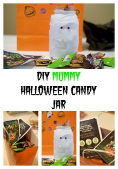 DIY Mummy Halloween