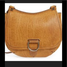 48cd911bb5a Cognac color for me. Frye  Amy  Leather Crossbody Bag available at