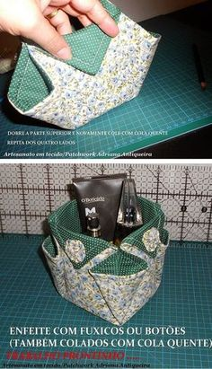 Easy 20 sewing hacks tips are available on our web pages. Check it out and you wont be sorry you did. Fabric Crafts, Sewing Crafts, Sewing Projects, Fabric Art, Diy Crafts, Patchwork Bags, Quilted Bag, Patchwork Fabric, Sewing Patterns Free