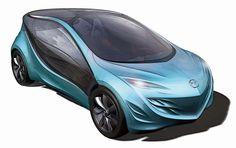 Mazda Kiyora, Future Vehicle, Futuristic Car