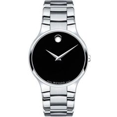 Compare Movado Men's 0606369 'Collection' Stainless Steel Swiss Quartz Watch prices online and save money. Find the lowest price on your favorite Movado Men's 0606369 'Collection' Stainless Steel Swiss Quartz Watch now. Fine Watches, Cool Watches, Watches For Men, Men's Watches, Sport Watches, Stainless Steel Watch, Stainless Steel Bracelet, Breitling, Omega