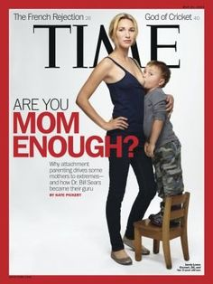 """La revista Time publicó una polémica portada sobre la lactancia materna, por la que fue acusada de """"sensacionalismo innecesario"""" y motivó anuncios de demandas ante servicios de protección al menor."""