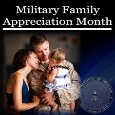 """November is """"Military Family Appreciation Month"""""""