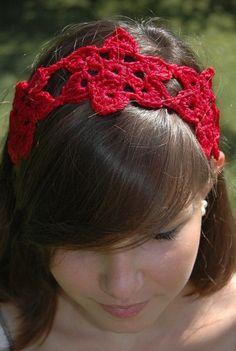 one skein crochet wonders 101 , sunflower headband
