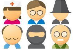 Free Iconset: User Icons by Seanau.com