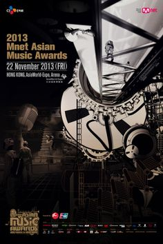 2013 Mnet Asian Music Awards Poster