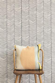 Herringbone behang | Ferm Living