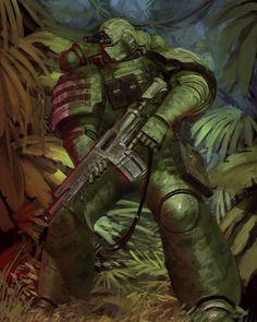 Warhammer 40k Memes, Warhammer Art, Warhammer Fantasy, Warhammer 40000, Armor Concept, Concept Art, Character Art, Character Design, Sci Fi Armor