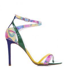 #CONDURbyalexandru #Shoes #2015 #Spring #Summer@1505 Multicolor Shoes 2015, Ss 15, Stiletto Heels, Spring Summer, Fashion, Sandals, Moda, Fasion, Trendy Fashion