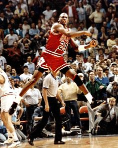 The Shot! May 7, 1989: Michael Jordan defined clutch to win Eastern Conference 1st round series vs Cavs.