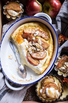 Easy Warm Swedish Caramel Apple Cheesecake | halfbakedharvest.com @hbharvest