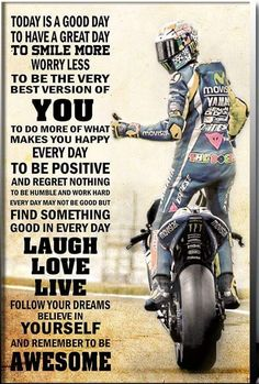 51 super Ideas for dirt bike riding girls motocross Motocross Quotes, Dirt Bike Quotes, Biker Quotes, Valentino Rossi, Suzuki Gsx R, Motogp, Motorcycle Humor, Motorcycle Tips, Motorcycle Posters