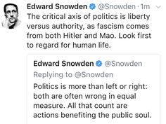 Edward Snowden, Equality, Politics, Life, Social Equality