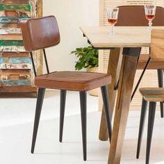 Chaise vintage : 21 modèles esprit rétro Table Vintage, Chaise Vintage, Dining Chairs, Sweet Home, Interior Design, Furniture, Home Decor, Decorating Ideas, Home