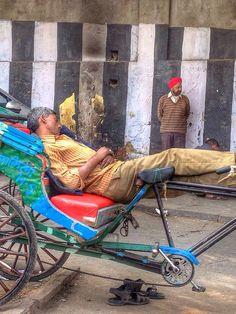 day at work in new delhi. by alyssaBLACK., via Flickr