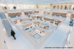 Stuttgart City Library, Germany. http://xbibliothek.stuttgart.de/stadtbibliothek/