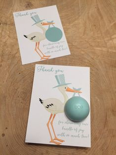 Twinkle Twinkle Baby Shower Favors Eos balm holder Favors Personalized Set of 10 cards
