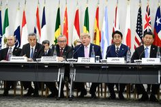 Japan aims for 'harmony' at G20 summit. Is it sidestepping climate change? This rife attitude on the part of G20 summit is NO LONGER ACCEPTABLE ! These junket-loving representatives have repeatedly side-stepped addressing this critical issue ! They just adopt the usual rhetoric designed to make it acceptable in eyes of the masses who lack the time, energy or wit to comprehend such a deep subject. Often the politicians are mere mouthpieces for vested interests who often fund their campaigns !
