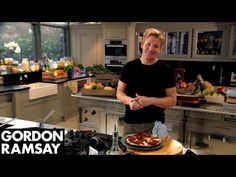 Gordon Ramsay Shows How To Make Eggs Baked In Hash Browns For American Style Breakfast