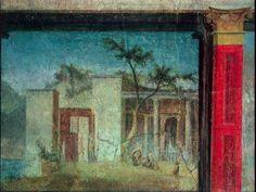 odyssey frieze panel 6, the palace of circe