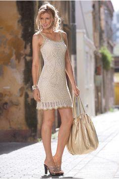 Gilded crochet dress #bostonproper #inspiringmothers