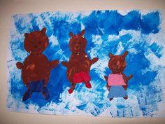 Les trois ours - Des Arts Visuels à l'école maternelle