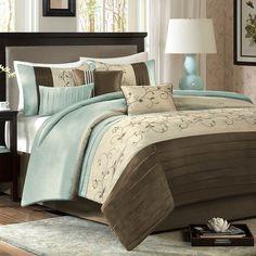 Madison Park Serene 7 Piece Comforter Set & Reviews | Wayfair