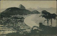 Copacabana. Por A. Ribeiro, cerca de 1905. Rio de Janeiro, RJ