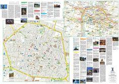 Bologna tourist map