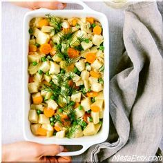 One-Pot Citrusy Winter Root Vegetables: Celeriac, potatoes, and carrots cooked in Olive Oil. Vegan + Gluten Free