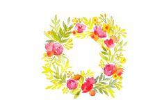 download it now, flower wreath by sallysantos on @creativemarket