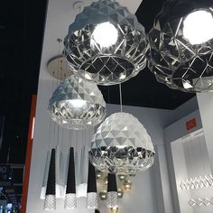 LBL Lighting at Lightfair. Love the bling with elegant simplicity.