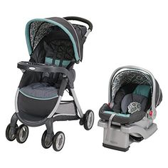 Stroller dimensions: 24.5L x 31W x 42H in.; 21.45 lbs. Folded: 28.5L x 22.5W x 18.5H in. Includes stroller, car seat, and base