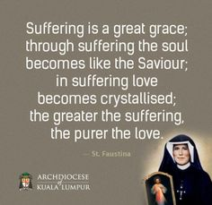 The first Sunday after Easter is Divine Mercy Sunday. This is dedicated to St. Faustina and Blessed Pope John Paul II. Catholic Quotes, Catholic Prayers, Catholic Saints, Religious Quotes, Roman Catholic, Catholic Answers, Faustina Kowalska, St Faustina, Holy Mary