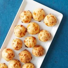 Easy (But Fancy) Finger Foods   Cheese Puffs   AllYou.com