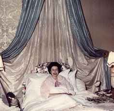 Queen Elizabeth after the birth of Prince Edward