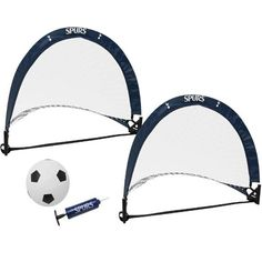 Tottenham Hotspur skill goal set containing 2 x mini goals, 1 mini football and football pump, all in club colours and featuring the Spurs club crest. FREE DELIVERY on all of our gifts Tottenham Hotspur Football, Spurs Fans, Harry Kane, Online Gifts, Goals, Carry Bag, Free Delivery, Pump, Colours