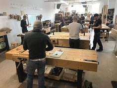 Another busy Saturday morning at the Unplugged Woodshop Toronto. An introduction to hand tools. What are you building today? Woodworking School, Woodworking Classes, Toronto Life, Saturday Morning, Long Weekend, Hand Tools, Craft Projects, Building, Home Decor