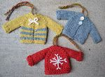Tiny Top-Down Pullover Sweater and Cardigan Pattern