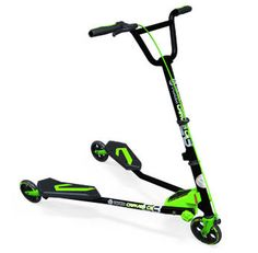 Y Fliker - A new variation of the scooter that is propelled by body motions rather than putting your foot to the ground.