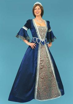 Florentine Renaissance Gown: Renaissance Costumes, Medieval Clothing, Madrigal Costumes by The Tudor Shoppe