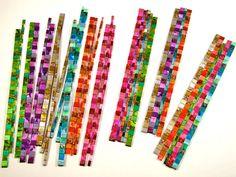 Mosaic plastics