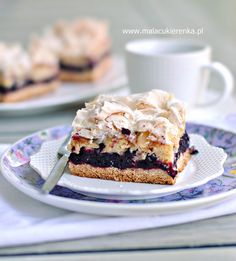 Ciasto z czarną porzeczką