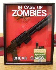 zombie emergency gun